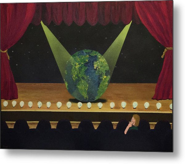 All The World's On Stage Metal Print