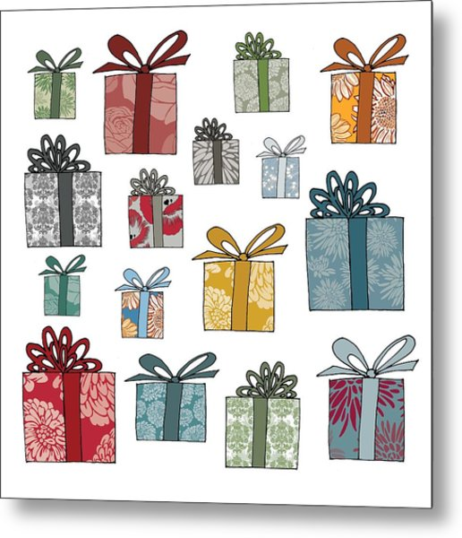 All Wrapped Up Metal Print