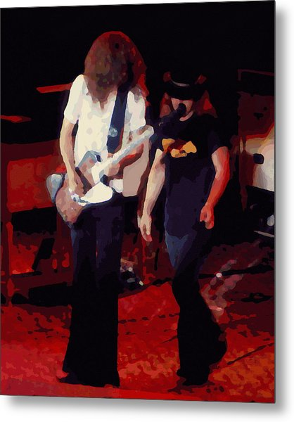 Allen And Ronnie Winterland 1 Metal Print