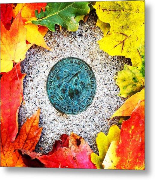 Alma College Seal Metal Print