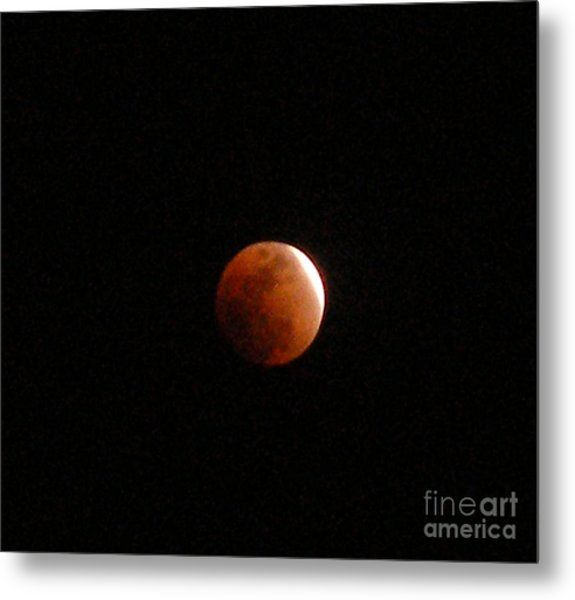 Almost Eclipsed Metal Print by Sibby S