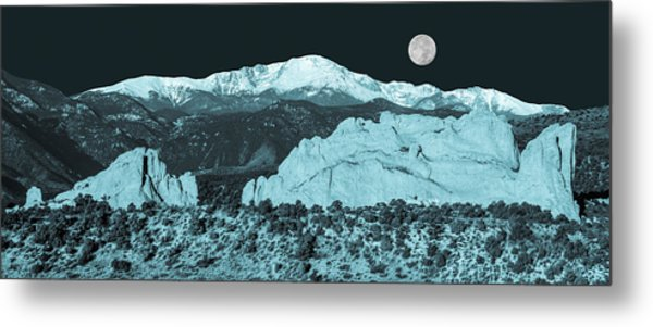 Almost Night Time  Metal Print