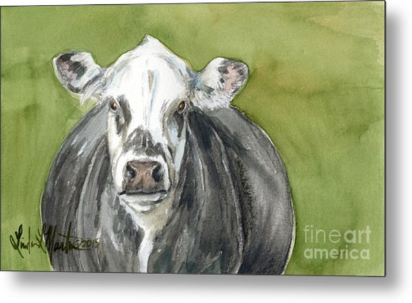Metal Print featuring the painting Almost Ready  by Linda L Martin