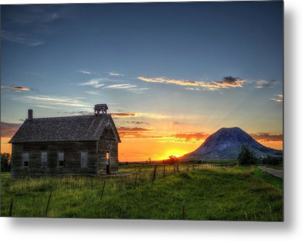 Almost Sunrise Metal Print