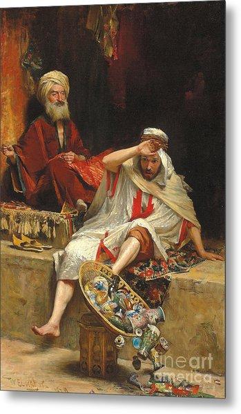 Alnaschar's Fortune, Arabian Nights, 1879 Metal Print