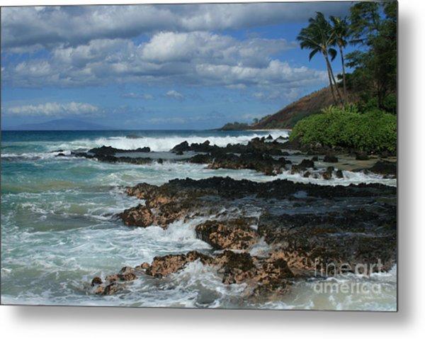 Aloha Island Dreams Paako Beach Makena Secret Cove Hawaii Metal Print