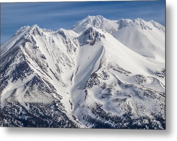 Alone At The Top Metal Print