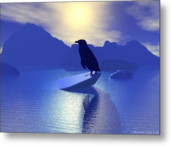 Alone Metal Print by Lisa Roy