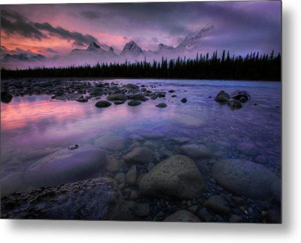 Along The Athabasca Metal Print