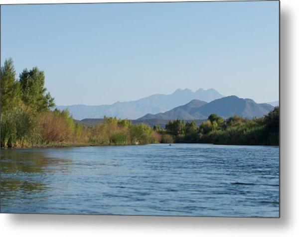 Along The Verde River 10 Metal Print by Susan Heller