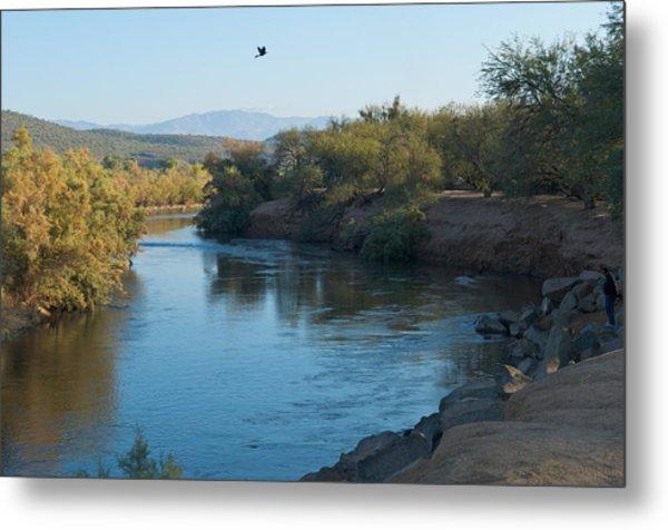 Along The Verde River 7 Metal Print by Susan Heller