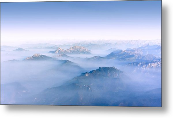 Alpine Islands Metal Print