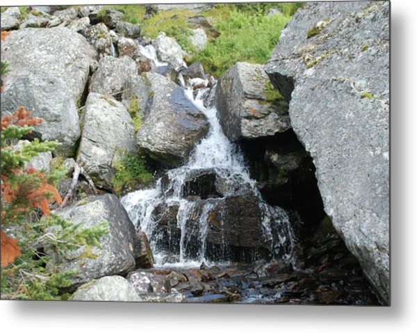 Alpine Waterworks Metal Print