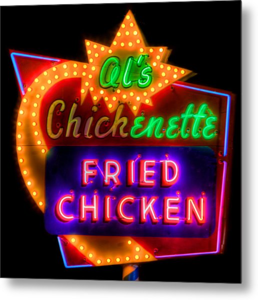 Al's Chickenette Metal Print by Thomas Zimmerman