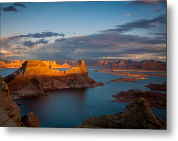Alstrom Point Lake Powell Metal Print
