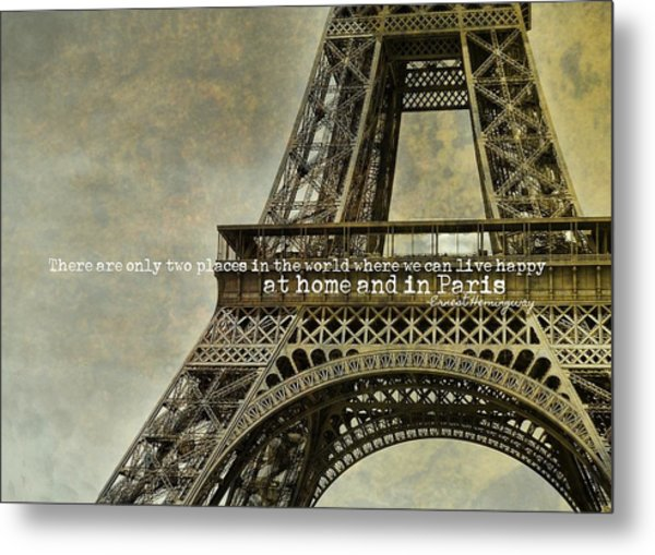 Altitude 95 Quote Metal Print by JAMART Photography