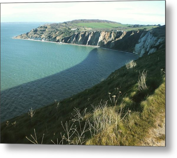 Alum Bay, Isle Of Wight Metal Print