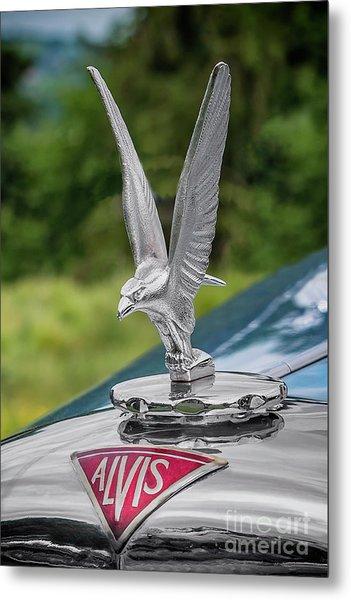 Alvis Car Mascot Metal Print