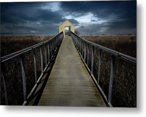 Alviso, California Metal Print