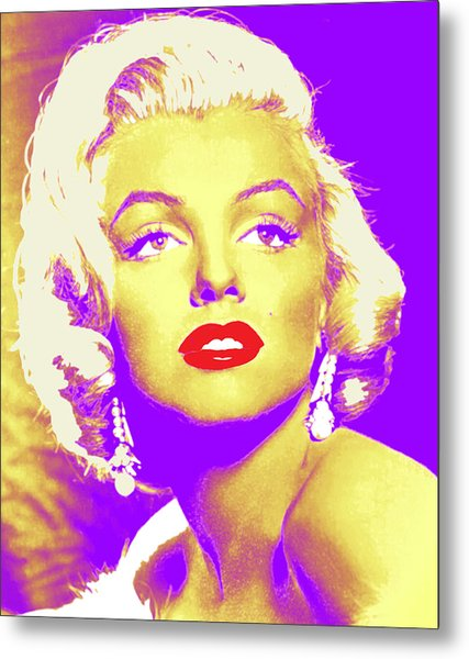 Always Marilyn Metal Print by Joy McKenzie