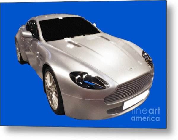 Am Sports Car Art Metal Print