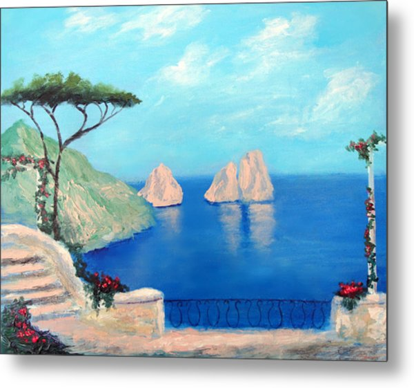 Amalfi  Beauty Metal Print