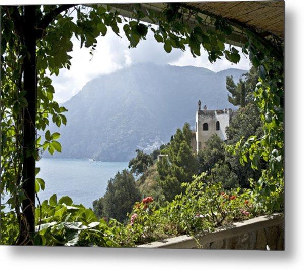 Amalfi Coast Metal Print by JR Harke Photography