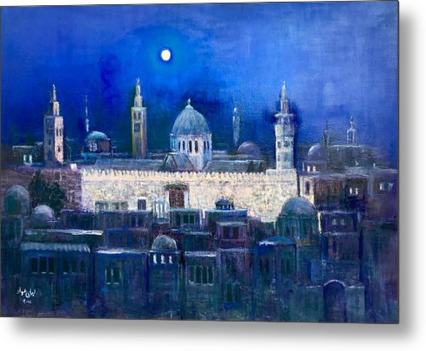 Amawee Mosquet  At Night Metal Print