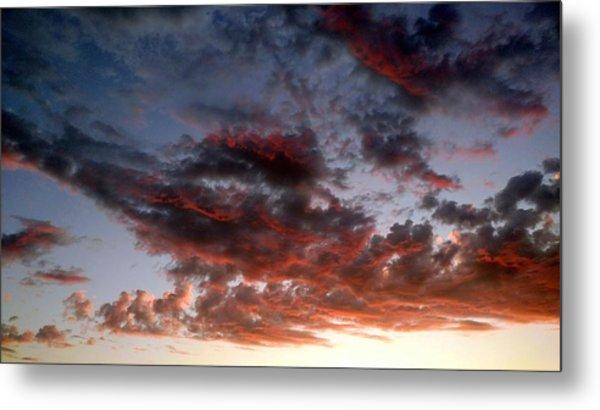 Spectacular Clouds  Metal Print