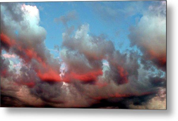 Imaginary Real Clouds  Metal Print