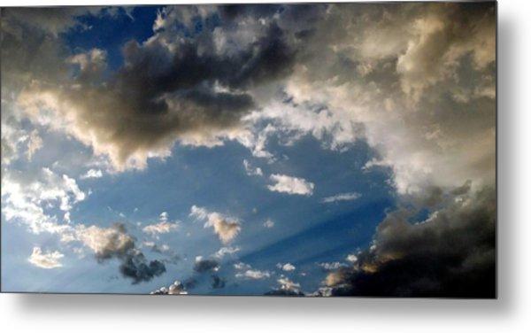 Amazing Sky Photo Metal Print