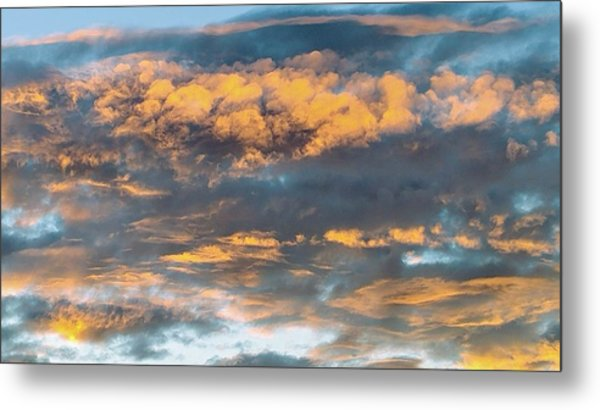 Clouds Of A Different Color Metal Print