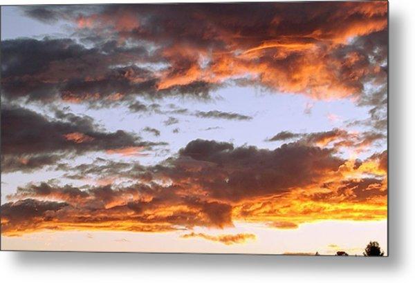 Glorious Clouds At Sunset Metal Print