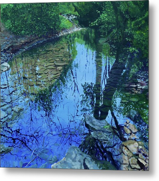 Amberly Creek Metal Print