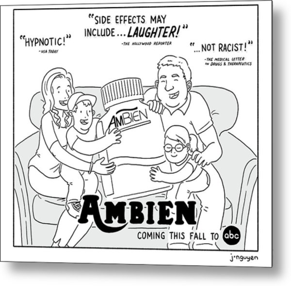 Ambien Coming This Fall To Abc Metal Print
