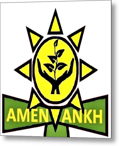 Amen Ankh Metal Print