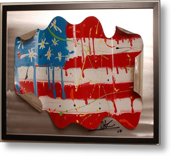 America Edition 2 Metal Print by Mac Worthington