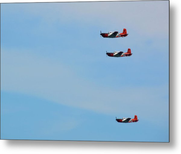 American Aviator Metal Print by JAMART Photography