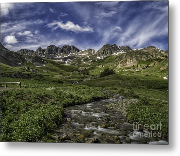 American Basin Trail Head Metal Print