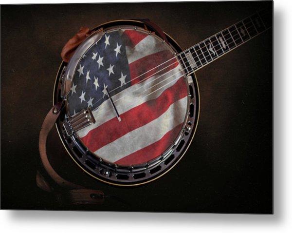 American Bluegrass Music Metal Print