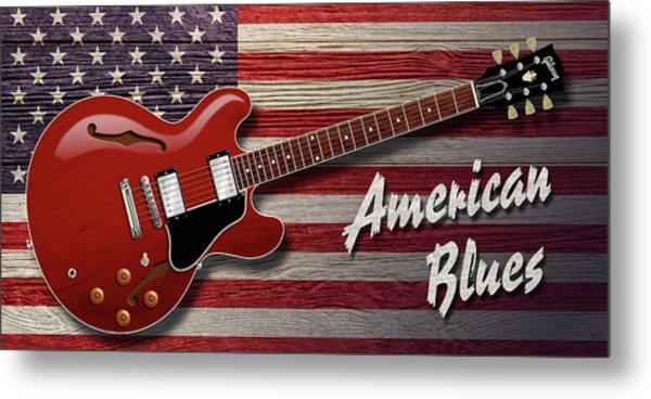 American Blues 335 Metal Print