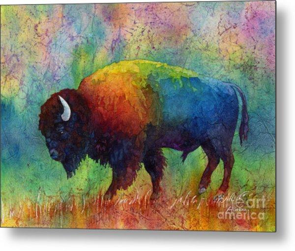 American Buffalo 6 Metal Print