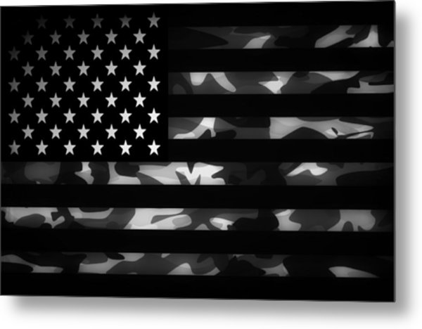 American Camouflage Metal Print