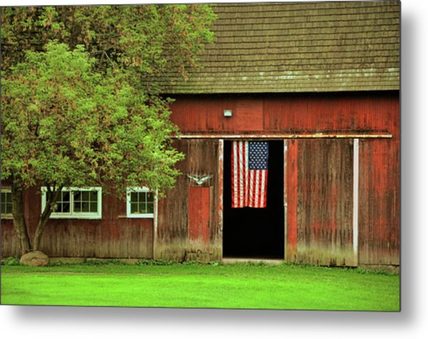 American Farm Metal Print by JAMART Photography