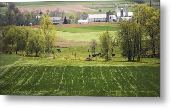 American Farmland Metal Print