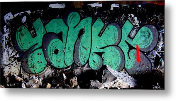 American Graffiti 10- Damn Yankees Metal Print