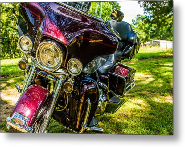 American Legend - Motorcycle Metal Print