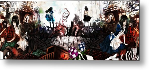 American Mcgee's Alice Metal Print