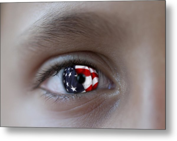 American Proud - Stars And Stripes Forever Metal Print