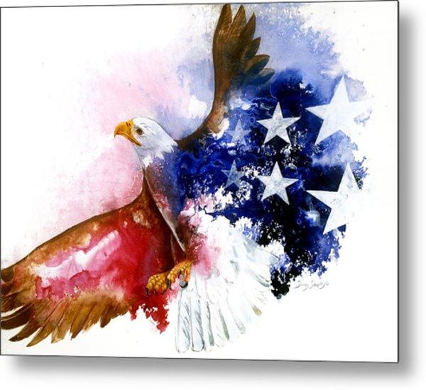 American Spirit Metal Print